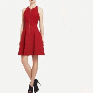 BCBGMAXAZRIA red Giuliana Tulip Dress